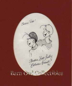 Between Friends Original Comic Art by Sandra Bell-Lundy