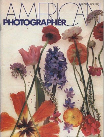 American Photographer  June 1985 Tom Baril Van Deren Coke