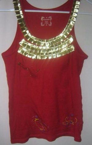 Red & Gold Tank