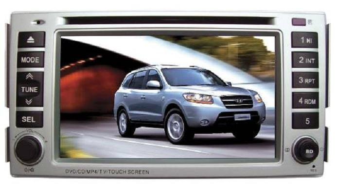 Hyundai Santa Fe In-Dash DVD Player with GPS Navigation