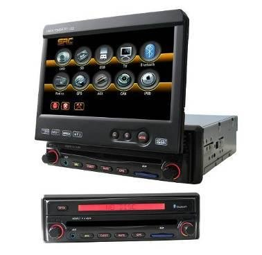 Model 9301 Single DIN In-Dash DVD Player with GPS Navigation