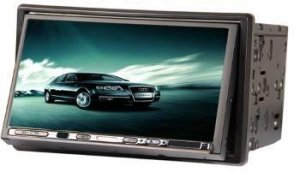 Model 7288 Double DIN In-Dash DVD Player