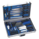 Slitzer™ 22pc Professional Chef's Cutlery Set in Case