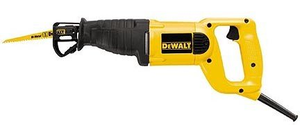 Heavy Duty Reciprocating Saw Kit - DeWalt
