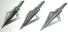 3 Pcs 3 Blades Broadhead Crossbow Arrows Tips