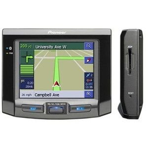 Pioneer Portable Navigation System