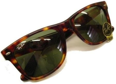 Ray Ban Wayfarer 2113 Originals Sunglasses 54mm Brown/G15 - Brand New from U.K. Ray Ban Dealer
