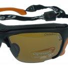 Julbo Trek Sunglass,Matt Black,Polarized Photochromic Anti-Fog lens, Removeable Orange Side Shields