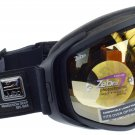 Julbo Titan Ski Goggle OTG Fits Over Glasses Matt Black, Zebra Photochromic Spherical Double Lens