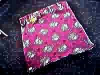 Fleece lamb motif playmat