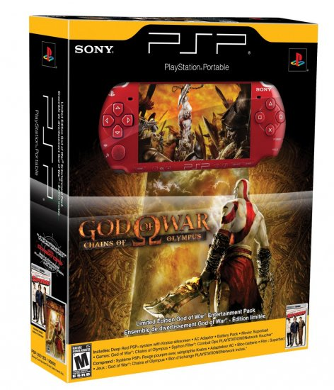 Sony PSP - Limited Edition God of War PSP Entertainment Bundle