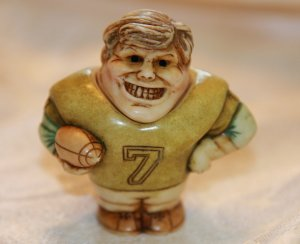 Harmony Ball Pot Bellys Match Maker The Football Player Jock New