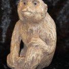 Organ Grinder Monkey Candle Holder Vintage Looking