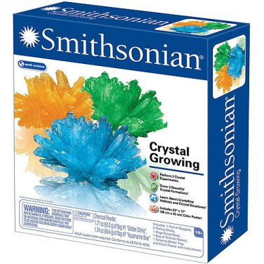 Smithsonian Crystal Growing Kit New