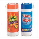 Household/Glass Cleaning Wipes