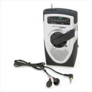 Battery-Free Emergency Radio