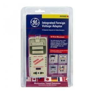 Multi-Nation Travel Voltage Converter
