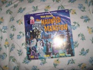Walt Disney Haunted Mansion Disneyland record and book set rare