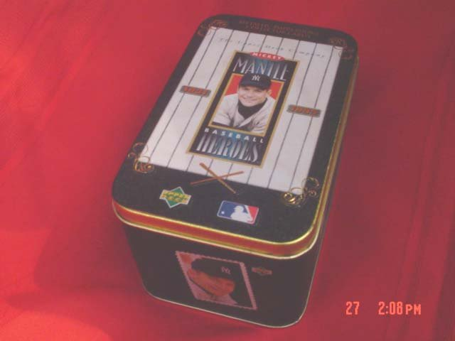 Metallic Baseball Collectors Cards