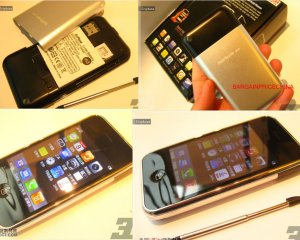 Sciphone i68 - Unlocked Touch screen, Mp4 FM PDA Quand BAND Java 2.0 Iphone