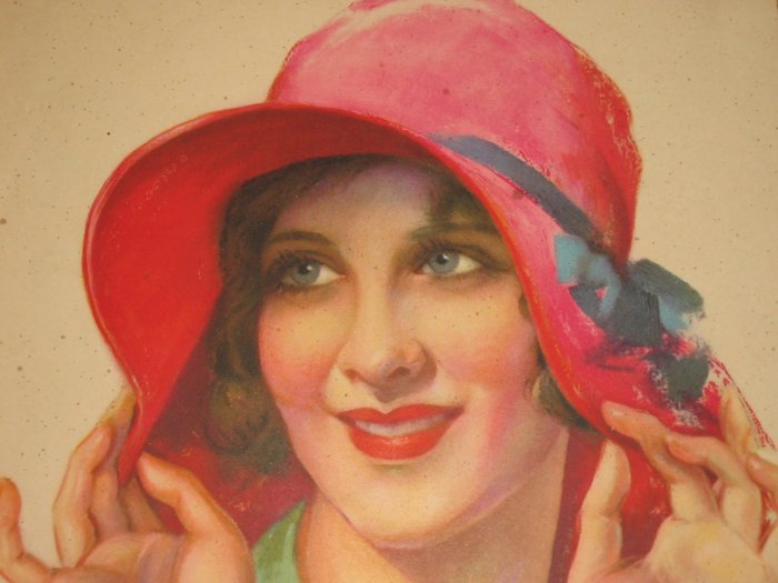 1929 Motion Picture Star  Mary Brian Color Print