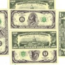 Six (6) pack of million dollar bills! Excellent joke for friends!