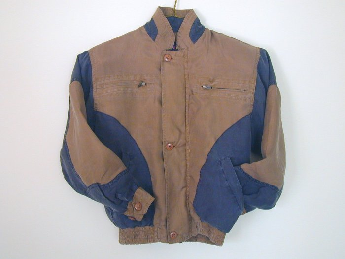 Boy's Brown Silk Jackets (S, Item#501)