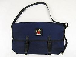 Canvas Messenger Bag 3601U - Medium Navy