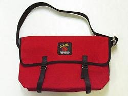 Canvas Messenger Bag 3601U - Medium Red