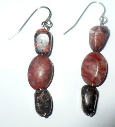 small jasper earrings