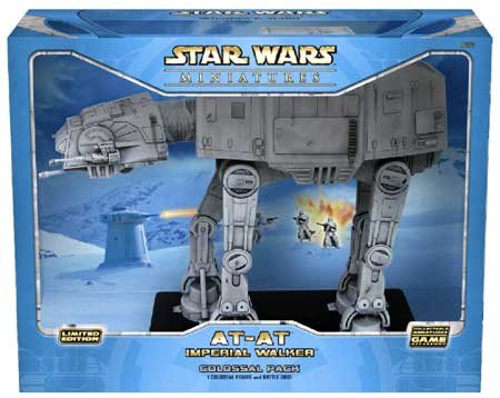 Star Wars Miniatures AT-AT Imperial Walker