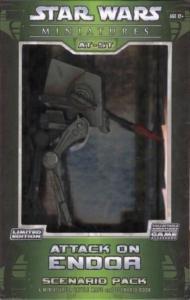 Star Wars Miniatures Attack on Endor Set