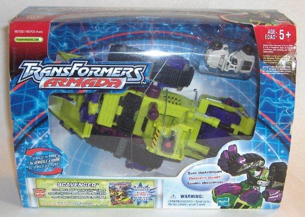 Transformers Armada Scavenger MIB