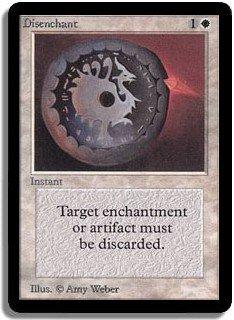 MTG Beta Disenchant