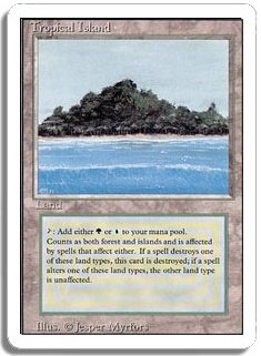 MTG Revised Tropical Island
