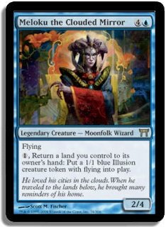 MTG Champions Meloku, the Clouded Mirror