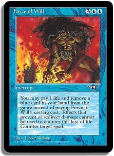 MTG Alliances Force of Will