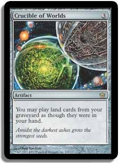 MTG 5th Dawn Crucible of Worlds