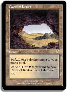 MTG Apocalypse Caves of Koilos