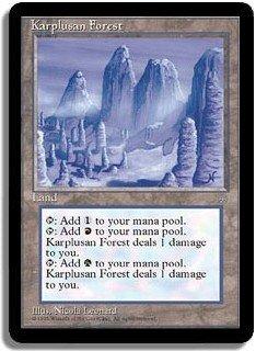MTG Ice Age Karpulsan Forest