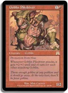 MTG Onslaught Goblin Piledriver