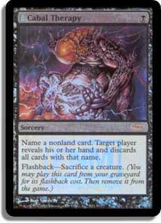 MTG DCI Cabal Therapy FNM FOIL