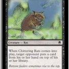 MTG Darksteel Chittering Rats