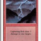 MTG Revised Lightning Bolt