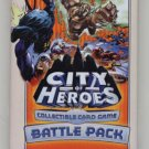 City of Heroes Battle Pack Sealed Booster