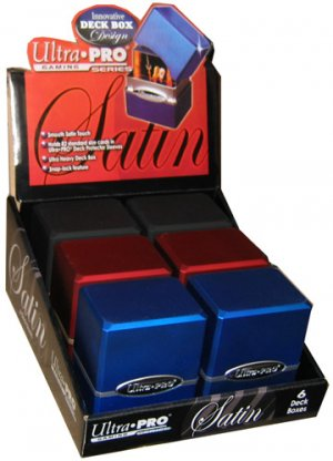 Ultra Pro Satin Deck Boxes - Black