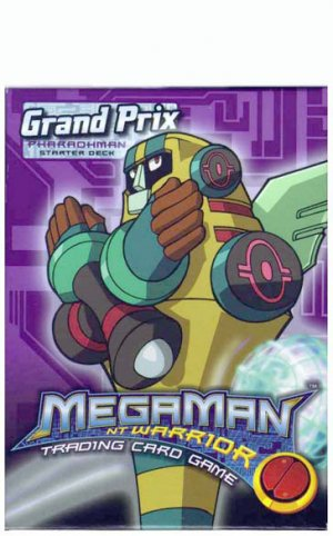 Mega Man Grand Prix PharaohMan Starter Set