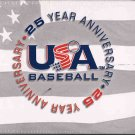 2004 Upper Deck USA 25th Anniversary Baseball Cards Team Set