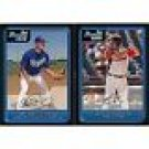 2006 Bowman Baseball Prospects Complete Set 110 Cards