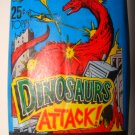 1988 Topps Dinosaurs Attack Sealed Pack